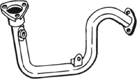 Tuyau d'échappement pour PEUGEOT 306 3/5 portes (7A, 7C
