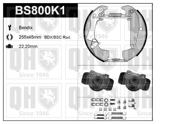 Kit de freins, freins à tambours pour RENAULT TRAFIC I