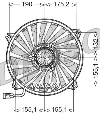 Ventilateur, refroidissement du moteur pour FIAT ULYSSE I