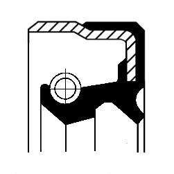 Bague d'étanchéité, transmission automatique pour MERCEDES