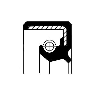 bague d'étanchéité système S.P.I., boîte de direction pour