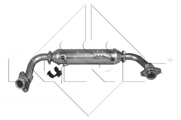 Radiateur, réaspiration des gaz d'échappement pour FIAT