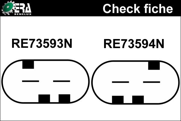 Alternateur neuf pour MERCEDES-BENZ CLASSE C (203) Coupe