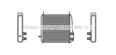 Radiateur d'huile pour MERCEDES-BENZ SERIE 190 (W201