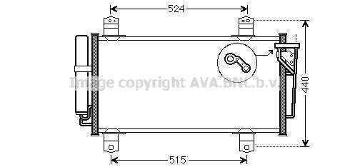 Condenseur, climatisation pour MAZDA 6 3/5 portes (GH) 2.0