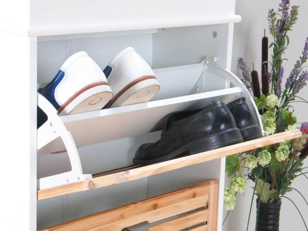 Schoenenrek 55 Cm Breed.Schoenenkast Hoog Schoenenrek Van Pallets Gemaakt Schoenen Opbergen