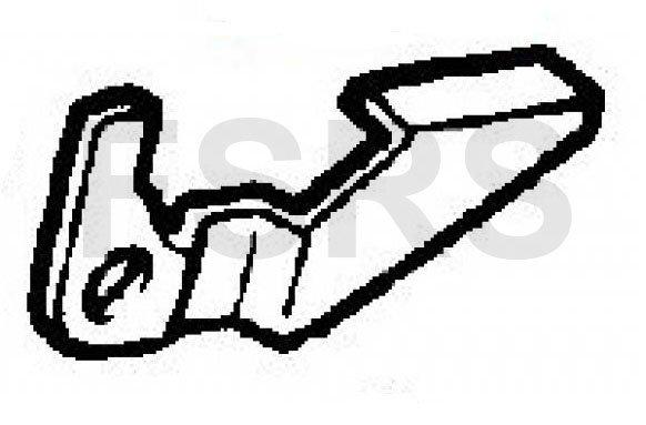 Hevel remschoen links Opel Ascona Astra Corsa Kadett Tigra
