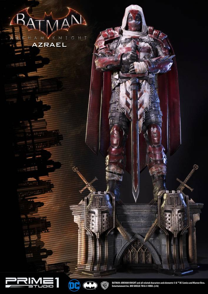 Batman Arkham Knight 13 Statue Azrael 82 Cm The Movie Store