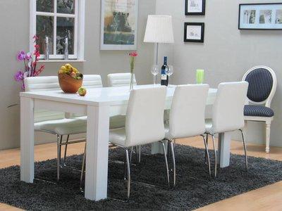 Leen bakker keukentafel for Goedkope witte stoelen