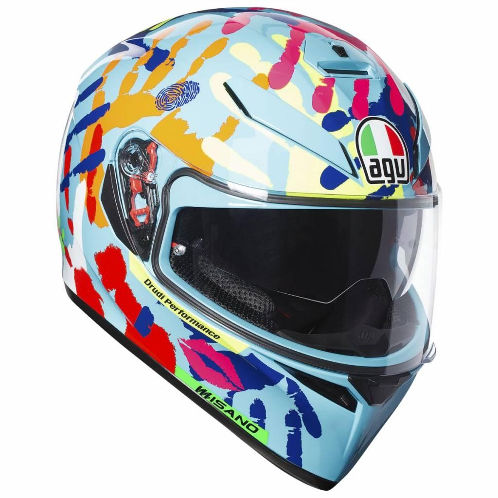 AGV K3 SV Misano 2014 Helmet - Champion Helmets