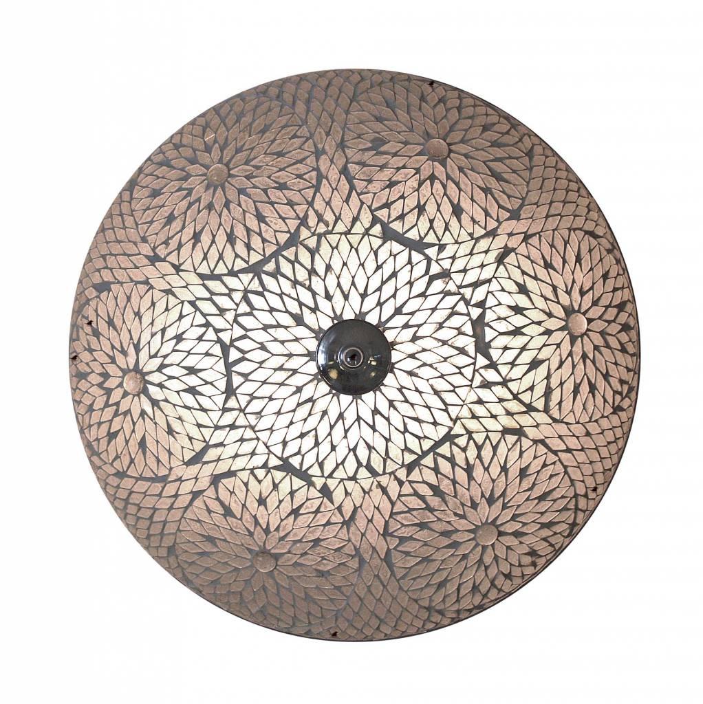 plafonniere glasmozaek transparant turkisch design