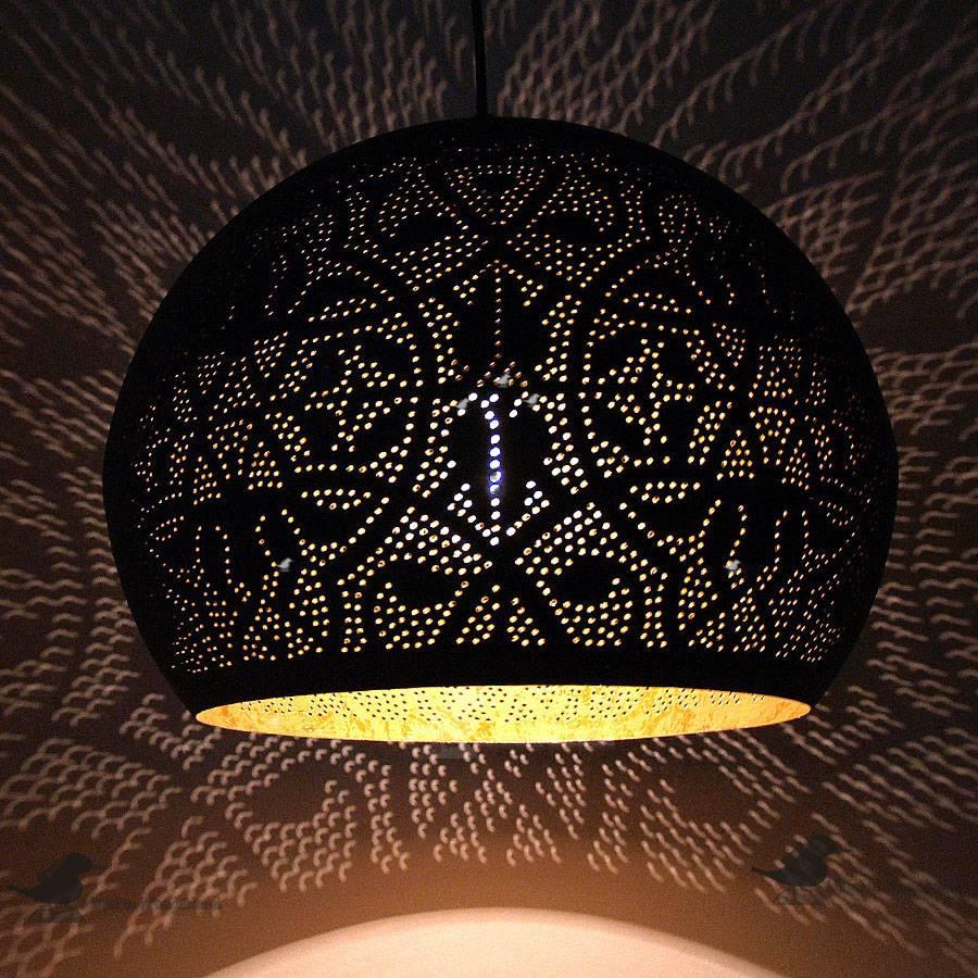 Grote bol filigrain lamp  Merel in Wonderland