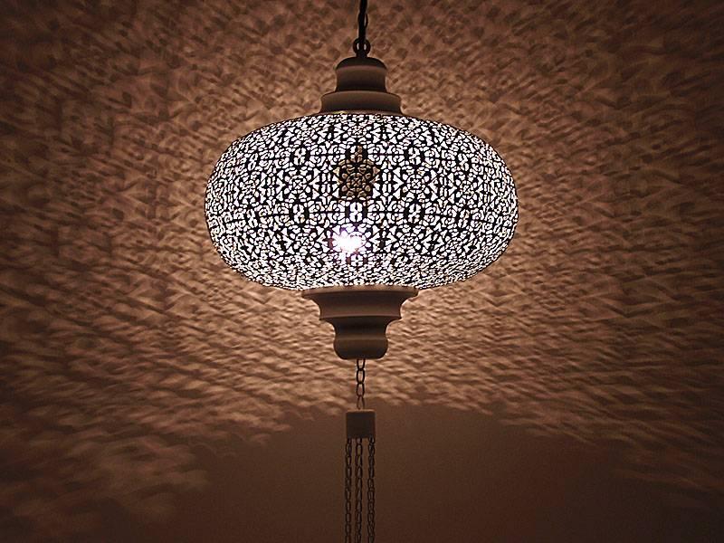 Bruine orientaalse hanglamp  Merel in Wonderland