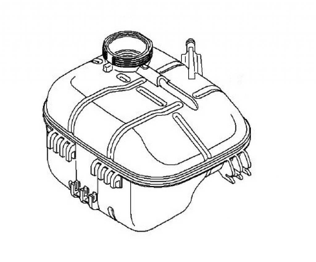 Opel Astra H Tank
