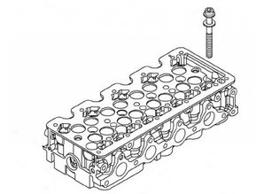 Screw cylinder head M12X108 Opel Astra-H Astra-J Corsa-D