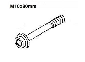 Bout nokkenastandwiel M10x80 Bout nokkenastandwiel M10x80