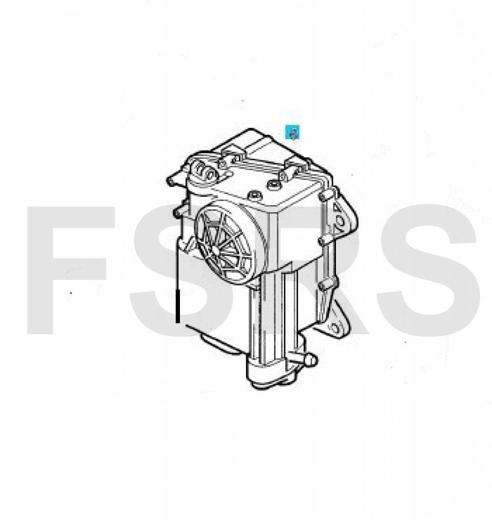 Actuator assy clutch Opel Astra-H Corsa-C Corsa-D Meriva-A