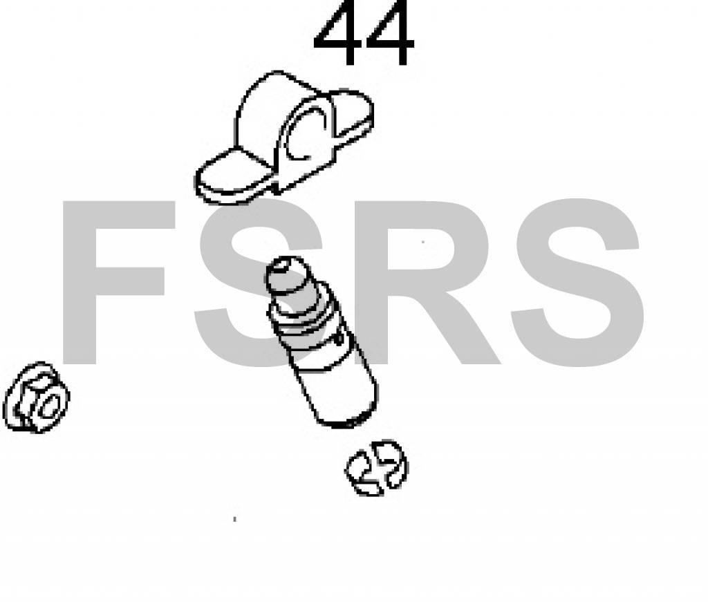 Arm valve rocker A20NFT / A20NHT / Z20NET / Z22SE / Z22YH