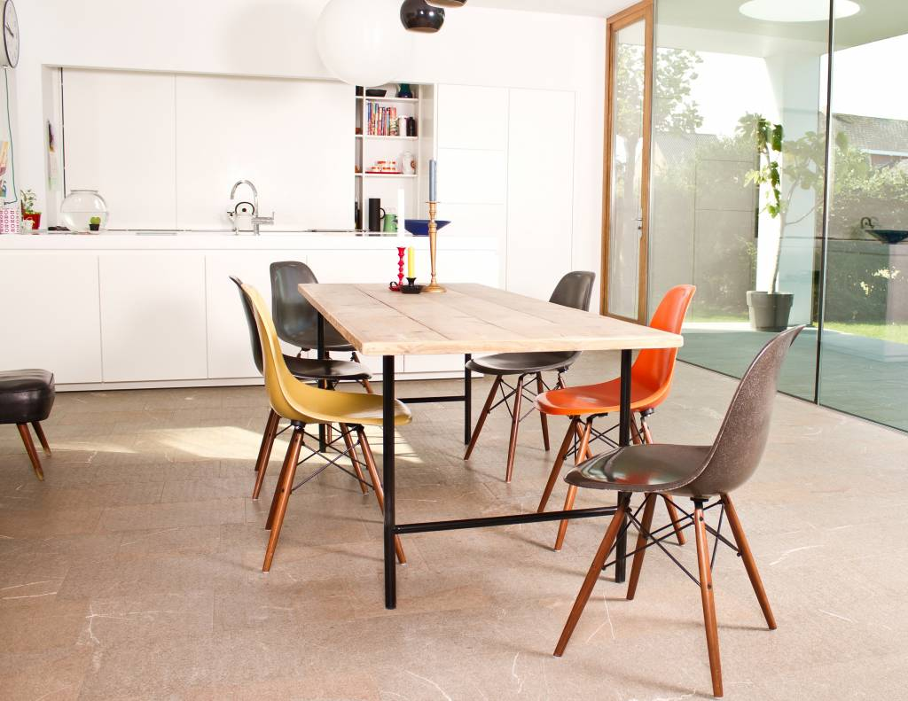Tonsberg Table scandinave en pin recycl  PURE Wood Design