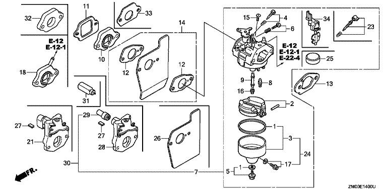 Honda Gsv190 Parts Diagram. Honda. Auto Wiring Diagram