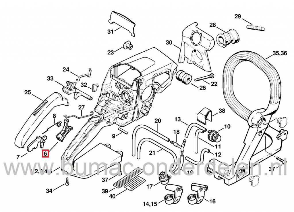 025 Stihl Chainsaw Parts Diagram • Wiring And Engine Diagram