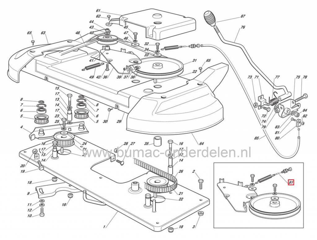 Koppelingskabel Castelgarden 102 Cm