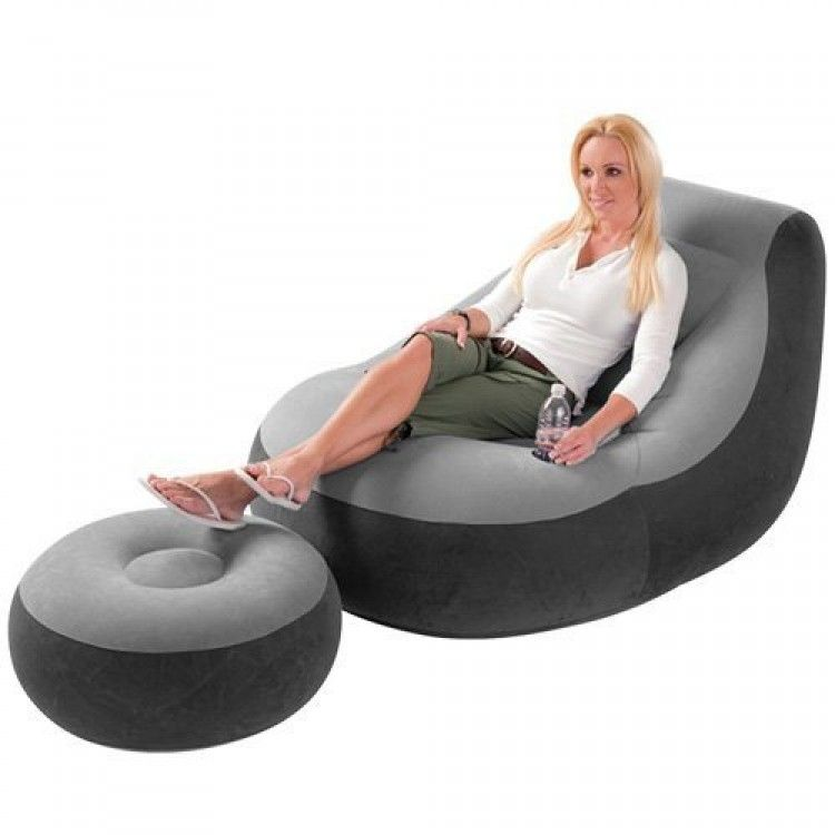intex inflatable chairs christmas armchair covers lounge chair destination beach