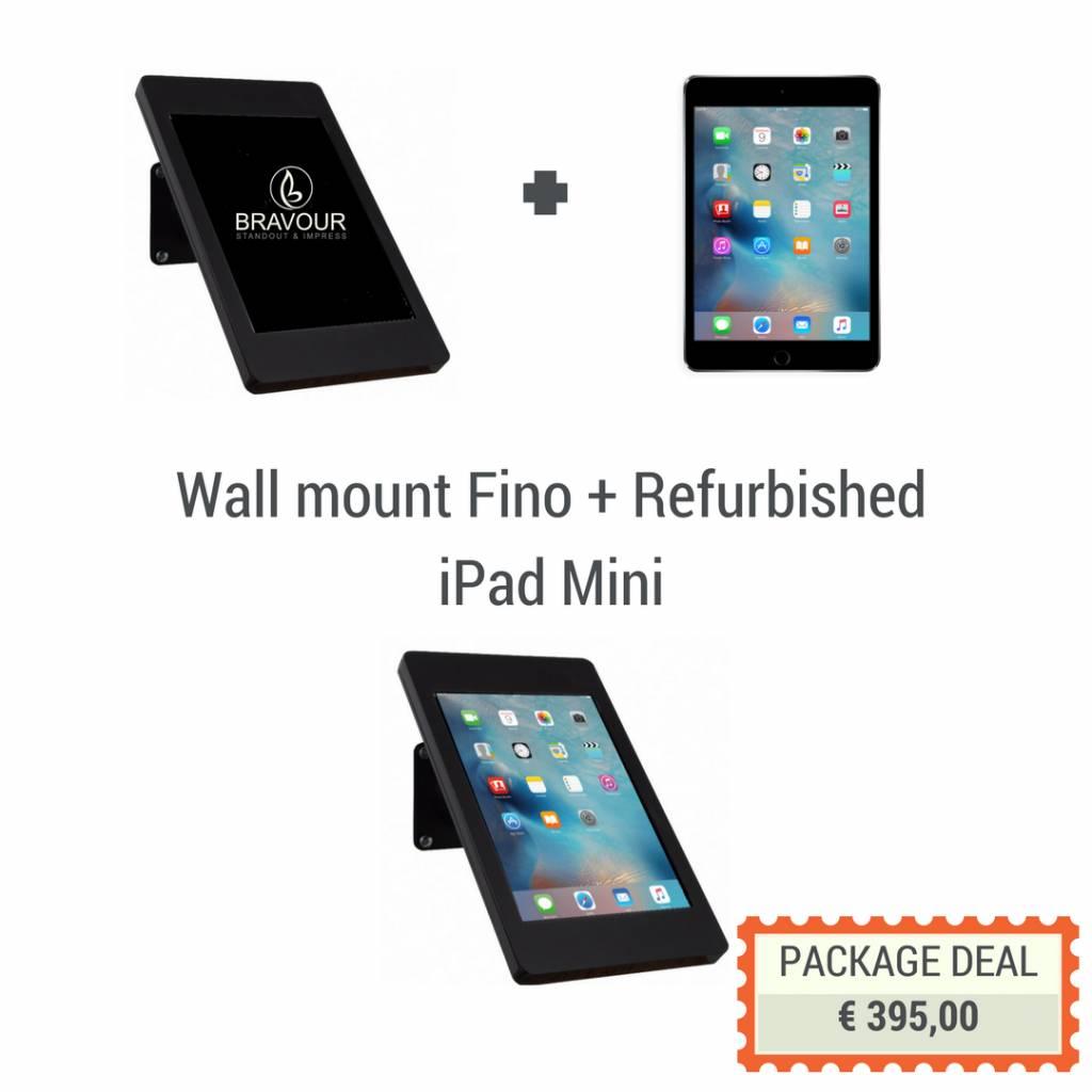 iPad walldesk Stand  iPad mini  Exhibishop