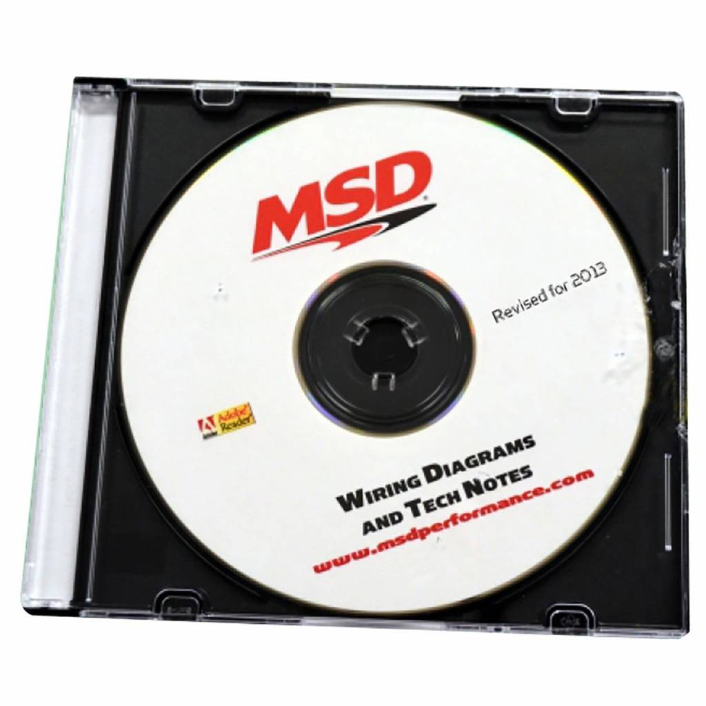 hight resolution of msd ignition cd rom wiring diagrams and tech notes