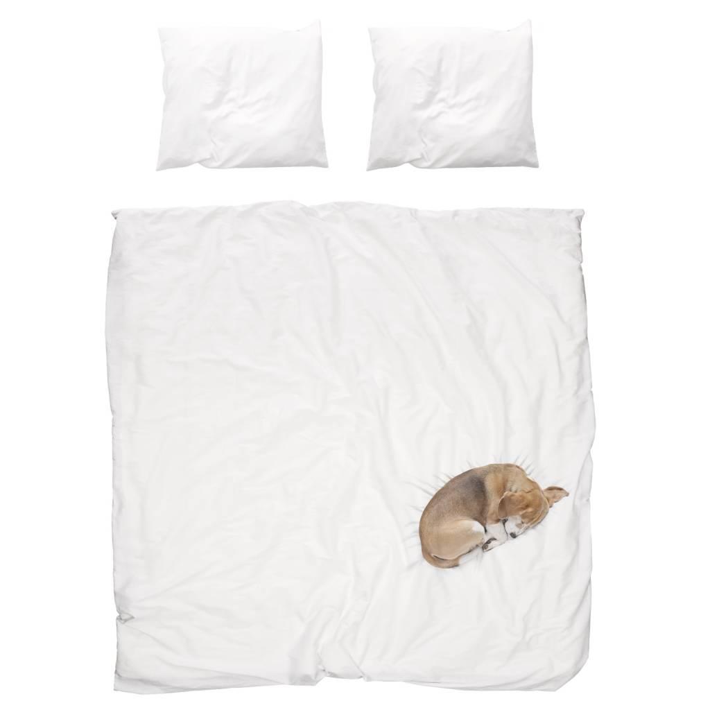 Snurk Beddengoed Bob dog bedding white 3 sizes