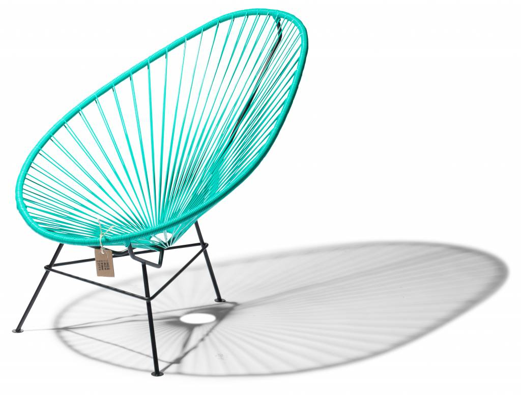 turquoise lounge chair fully adjustable office acapulco the original la