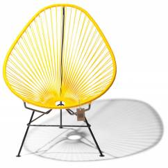 Acapulco Chair Best Folding For Bad Back Yellow Original The