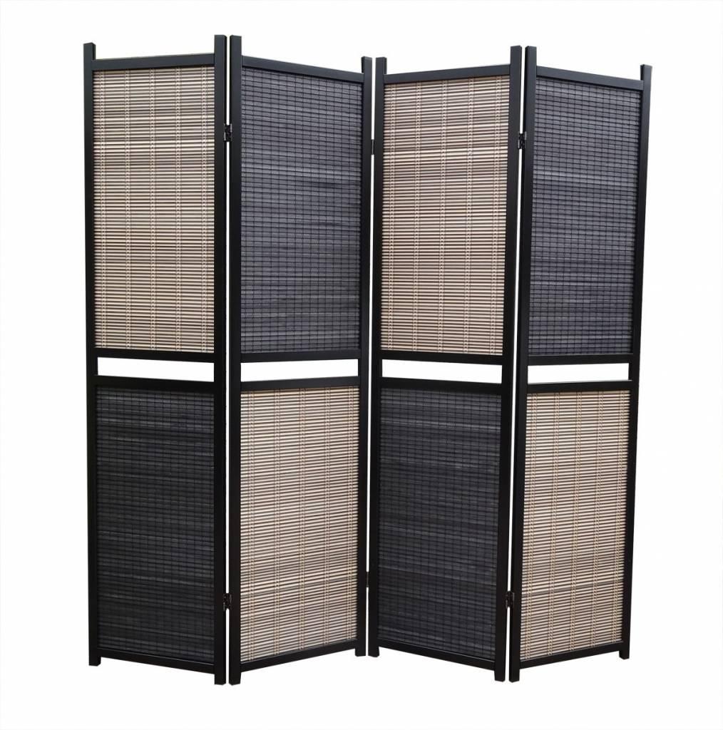 Scheidingswand Flexibel 4 Panelen  Canvasschermnl