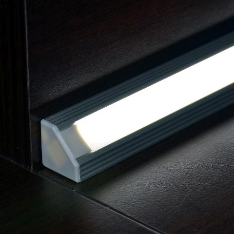 45ALU hoekprofiel voor ledstrips  Vallas Lighting and
