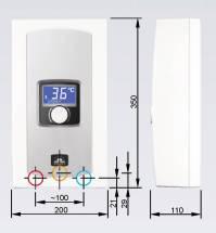 Durchlauferhitzer mit 230 volt  Klimaanlage und Heizung