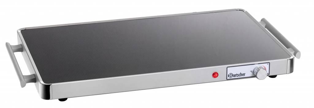 Elektrische warmhoudplaat glas Bartscher 114356  XXLhoreca