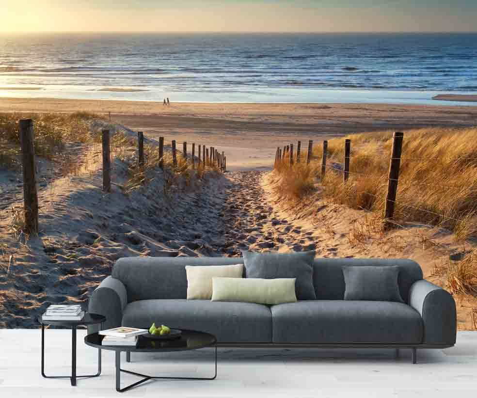 Fotobehang Strand  Walldesign56com
