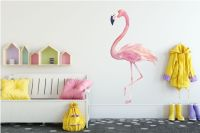 Wall Sticker Flamingo - Walldesign56 Wall Decals - Murals ...