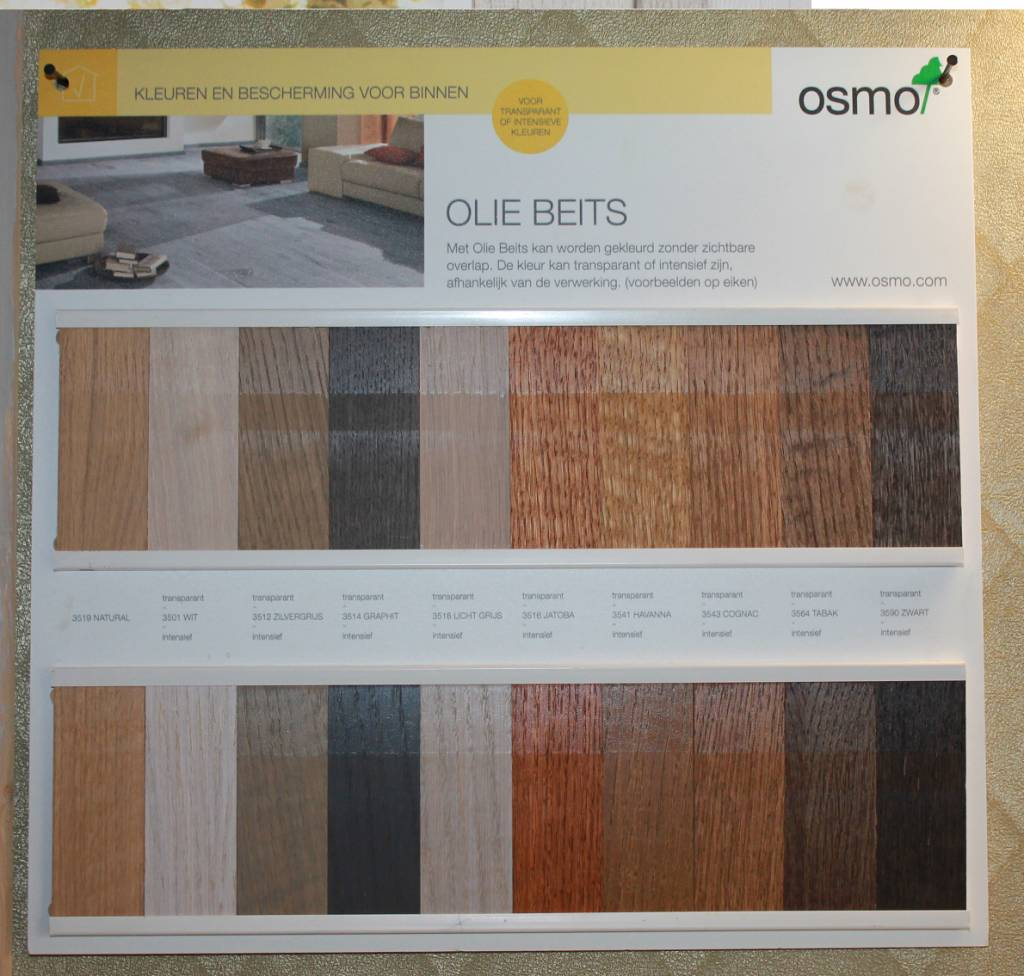 Osmo Oil Stain series 3500 choose your color NEW