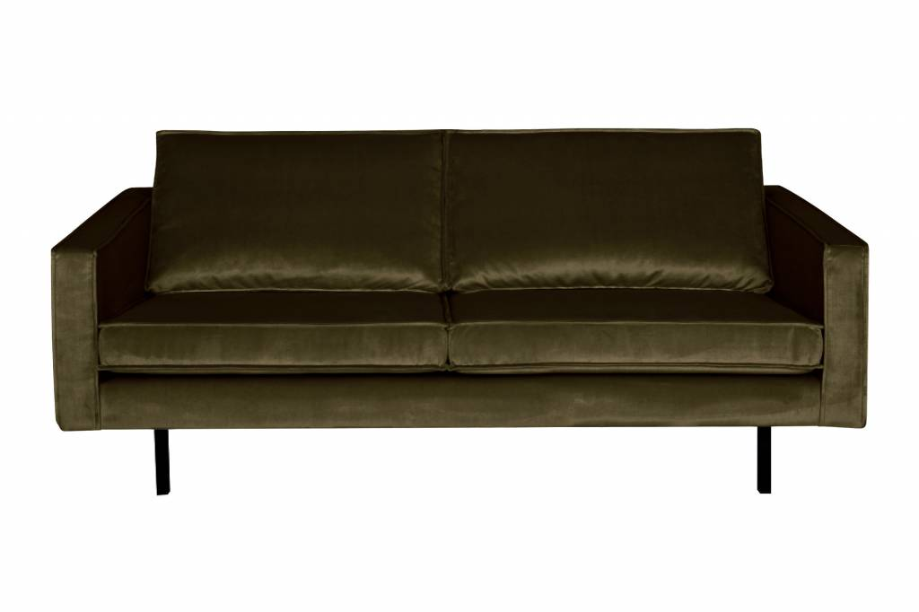 sofa seat height 60cm graham and green pink bepurehome couch 2 5 seater rodeo velvet hunter dark orangehaus