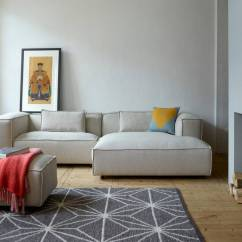 Sofa Company Nl Violino Red Leather Dunbar Modulaire Bank Polvere 21 Beige - Living And Co.
