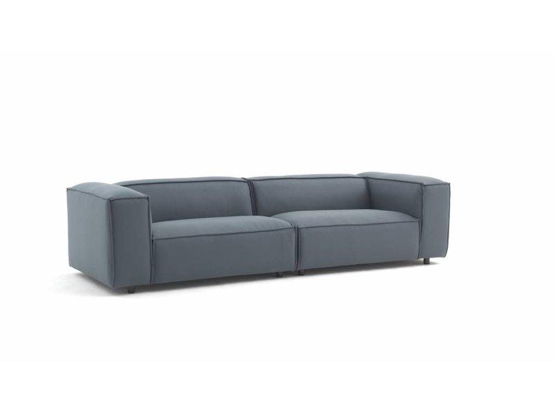 hay sofa kvadrat button dunbar modulaire bank hero 991 groen grijs living and co fest amsterdam modular green gray