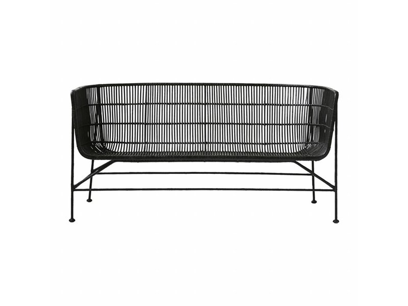 sofa company nl reviews pet protector cover canada house doctor coon rotan bank zwart - living and co.