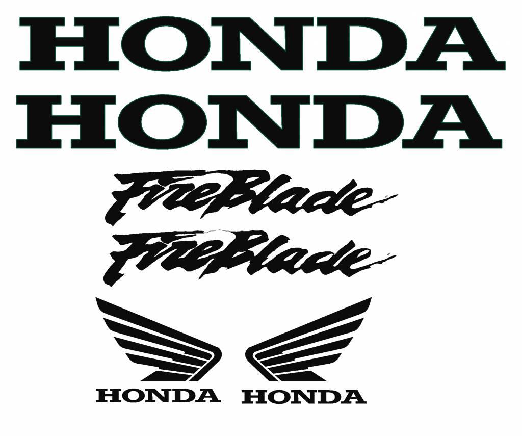 Honda Honda Fireblade Stickers