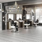 panda men's hair salon barber set