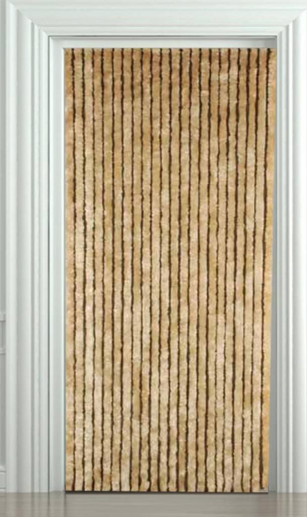 Vliegengordijn kattenstaart 100x220 cm Beige  Megatipbe