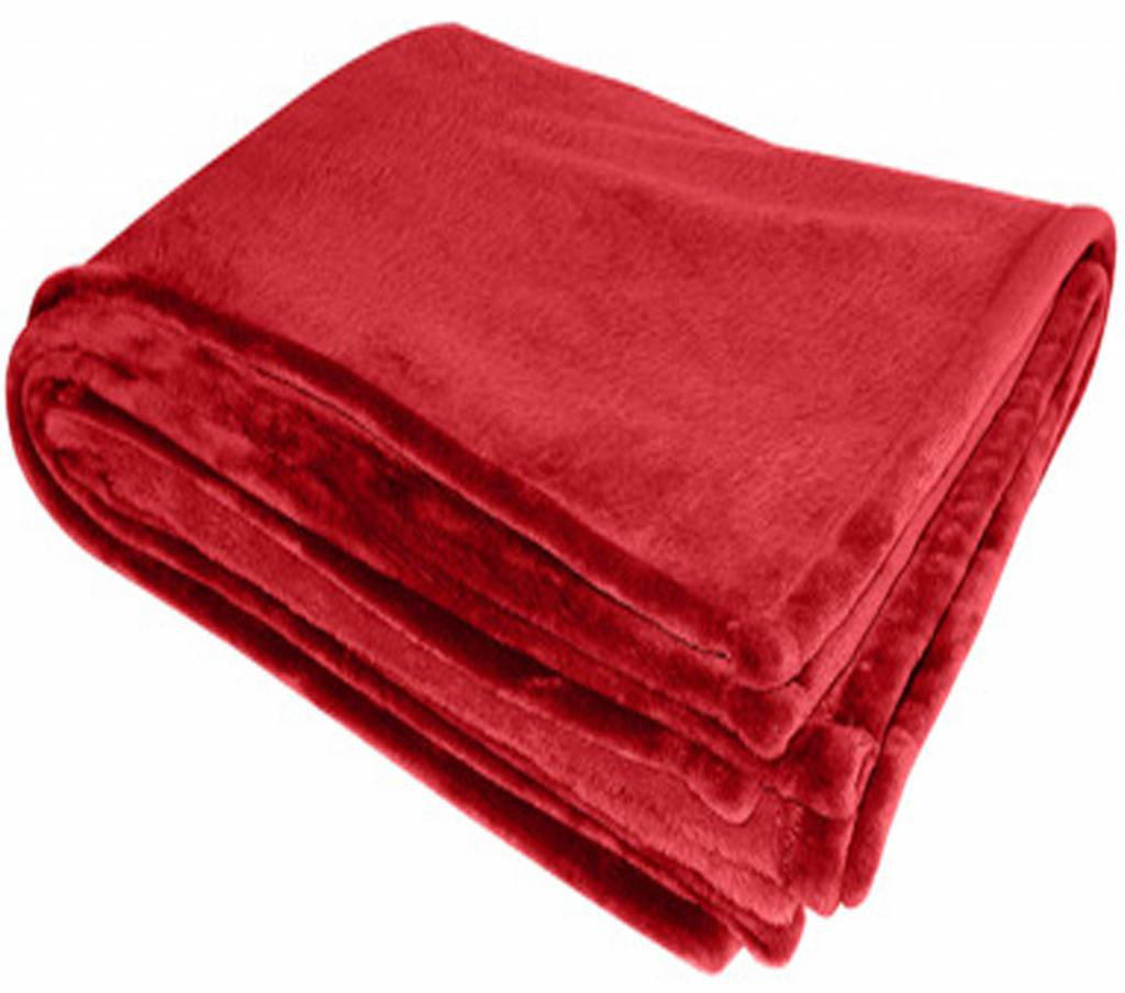 Flanellen deken 200 x 150 cm Red  Megatipbe