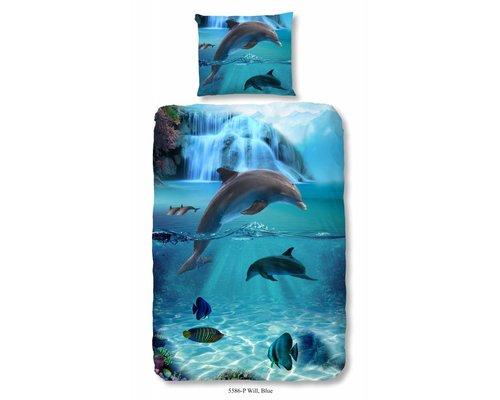 Mooie dekbedovertrekken met dolfijnen en vissen Voor elk