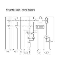 Power Door Lock Switch Wiring Diagram Sony Cdx Gt180 Fortress Interlocks Amgard Pro Safety Interlock Ta2t6sl411 - Safetyswitch-shop.com