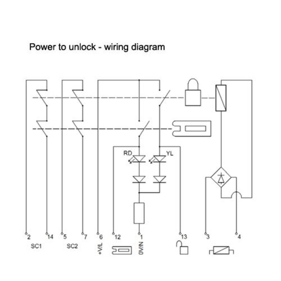 power door lock switch wiring diagram ford mondeo mk2 stereo fortress interlocks amgard pro safety interlock ta2t6sl411 - safetyswitch-shop.com